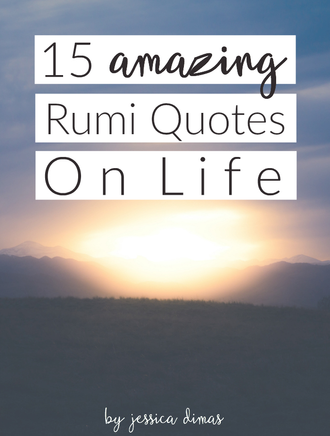 15 Life Lessons From Rumi