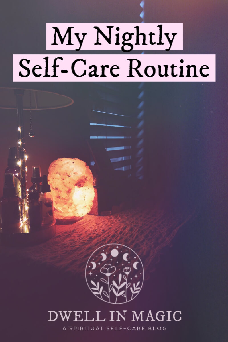 night routine for self-care