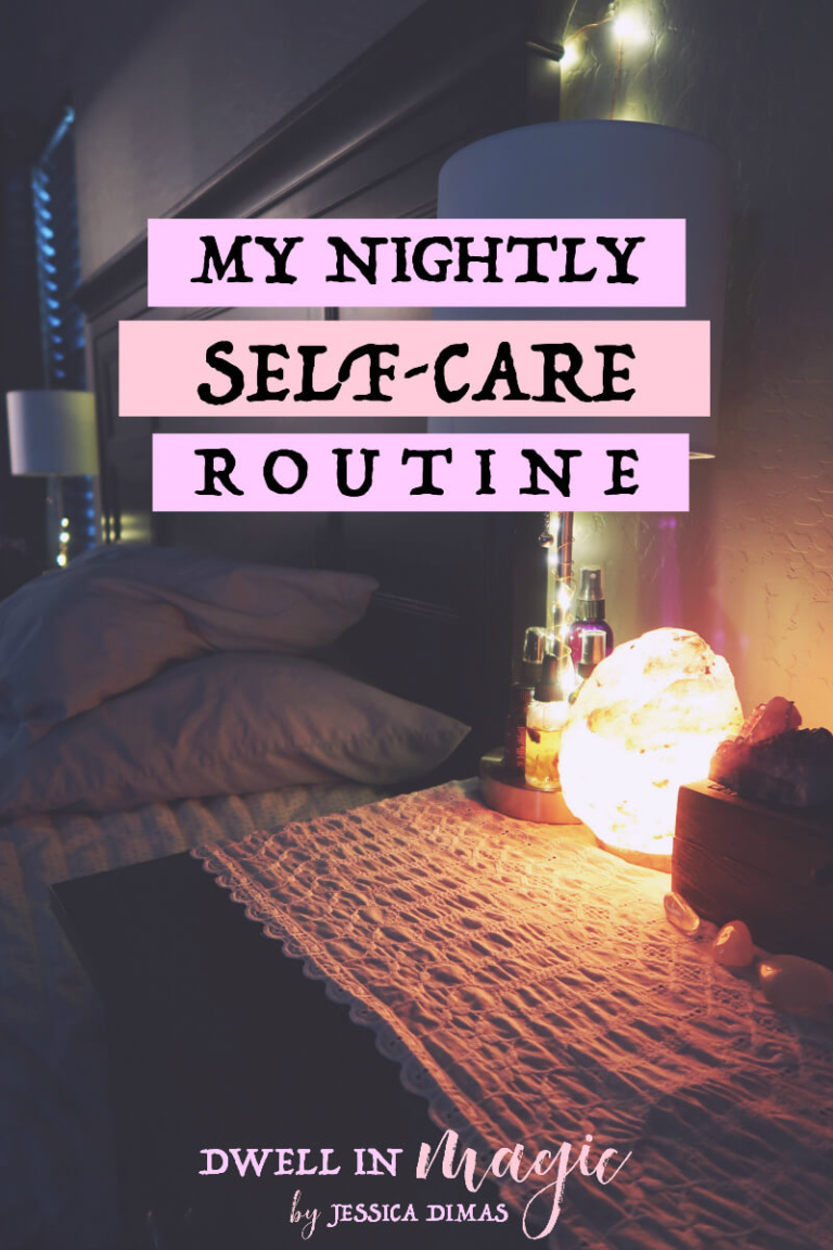 My nightly self-care routine and self-care ideas. I do this with two young kids so I can assure you that it's possible to fit it into a busy schedule.
