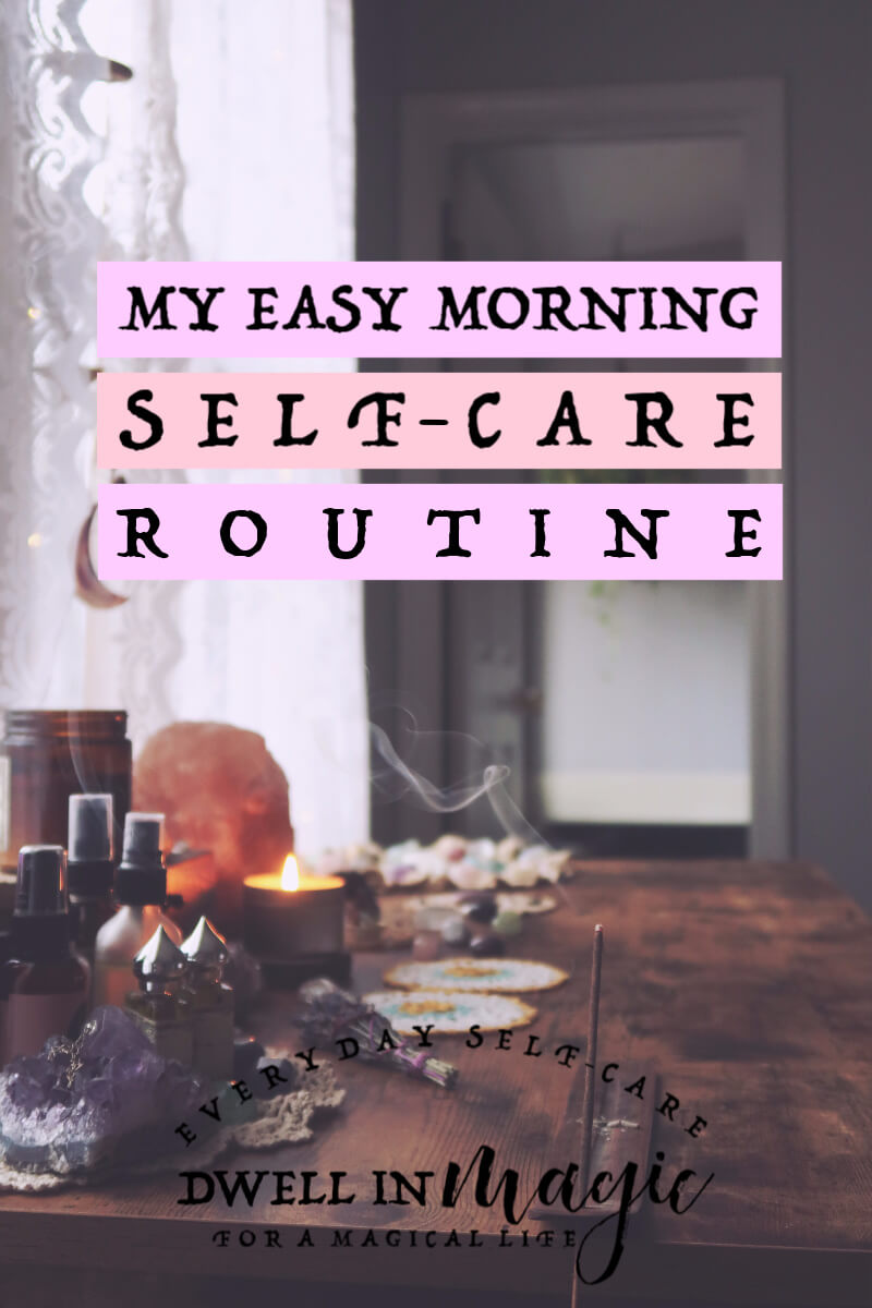 My easy morning self-care routine that's quick but powerful