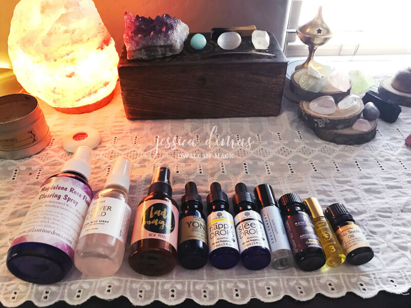 Essentials oils are aromatheraputic and should definitely be apart of your self-care space