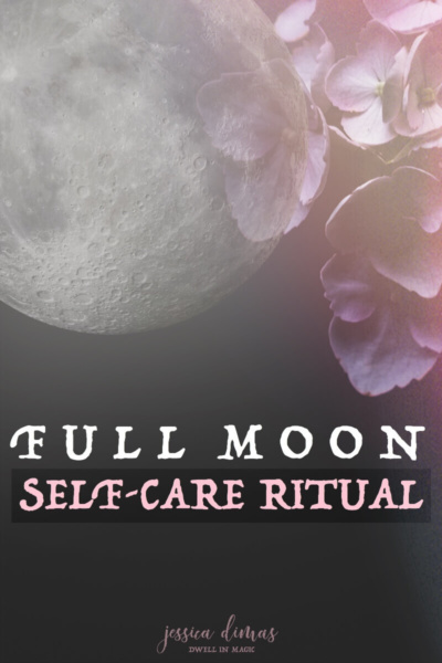 My full moon ritual that incorporates self-care and deep connection with the Divine #selfcareritual #selfcaretips #selfcareblogger #witchythings #witchywoman #moonritual #moongoddess #fullmoon #fullmoonritual