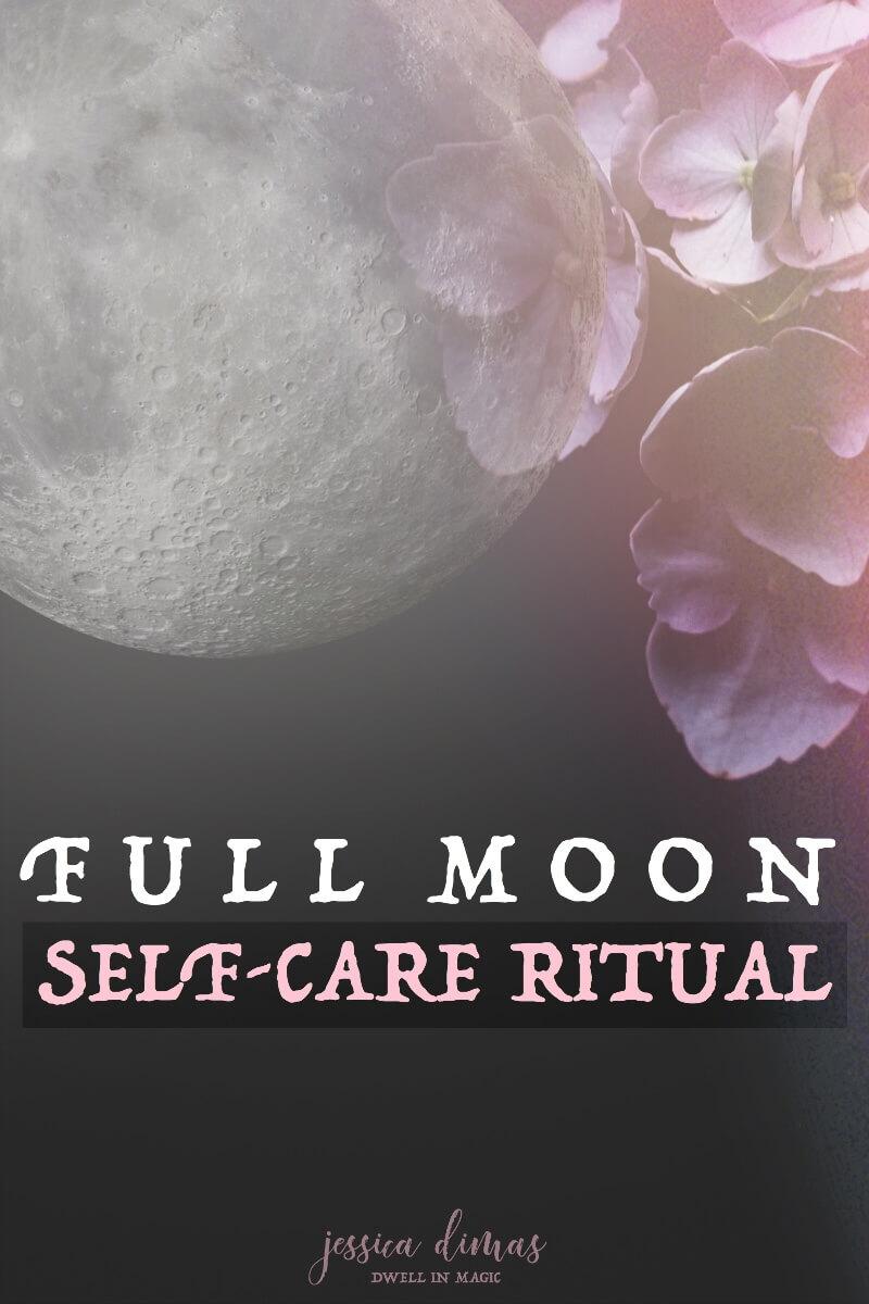 How to do a full moon ritual