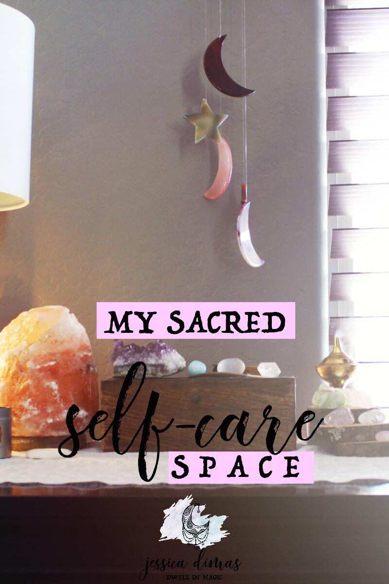 How to Create a Sacred Self-Care Space
