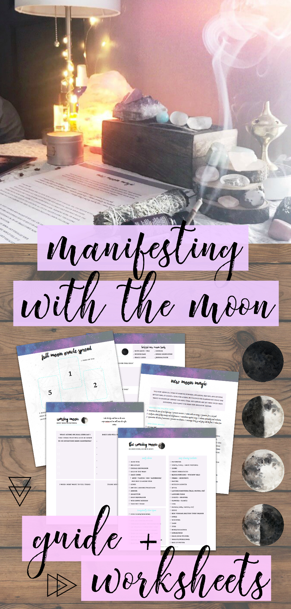 Waxing Moon Self-Care Ritual - Dwell in Magic