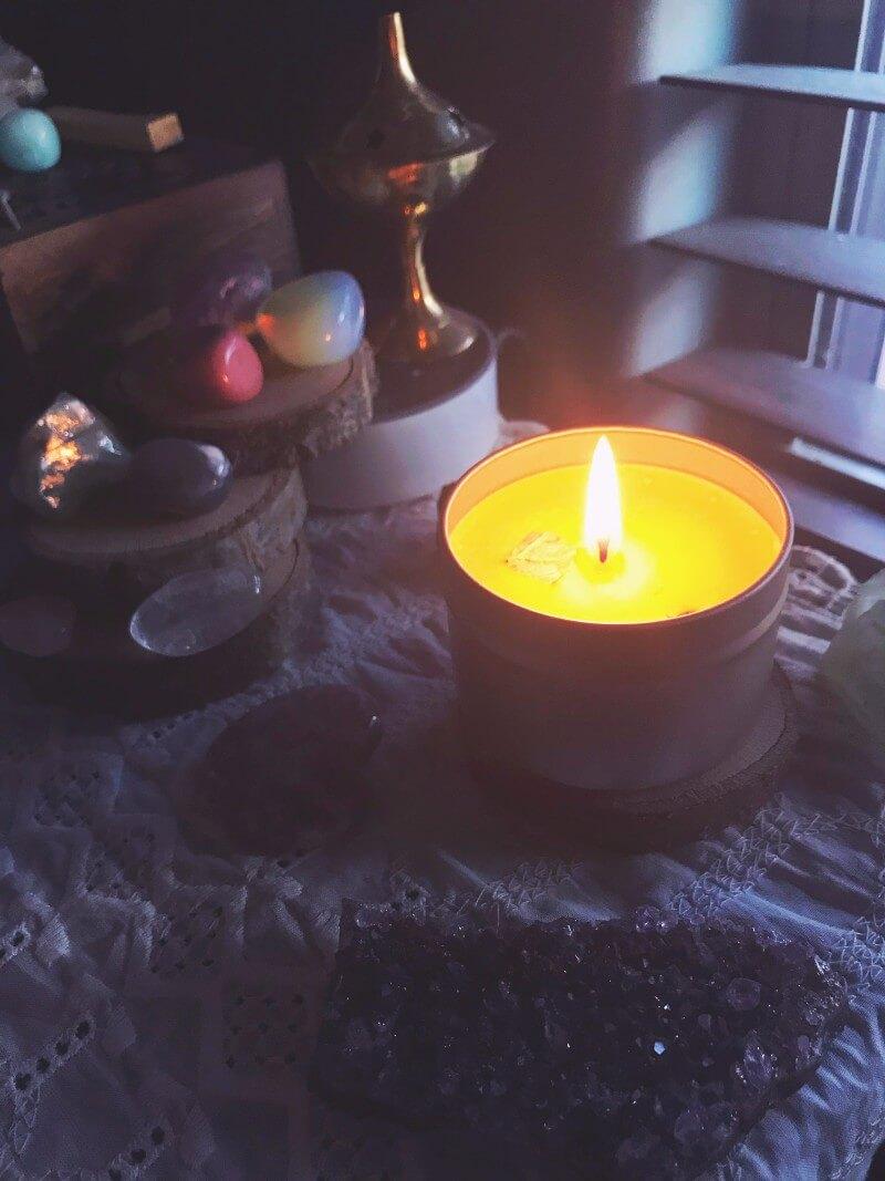 Shakti Candle