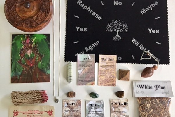 Awakening in a box witchy
