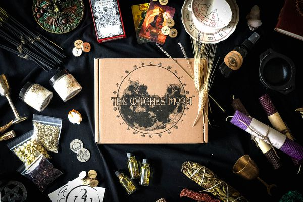 the witches moon ritual pagan subscription box