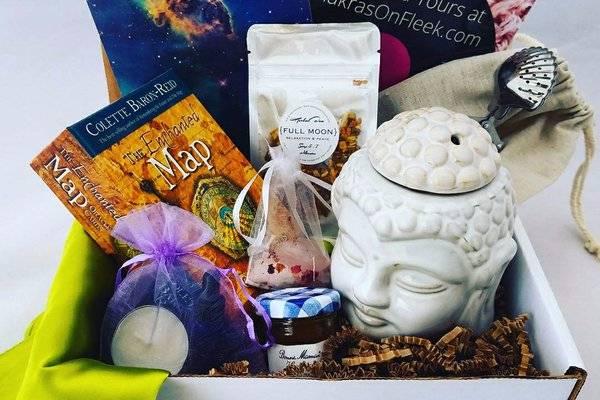 WEvolve spiritual subscription box