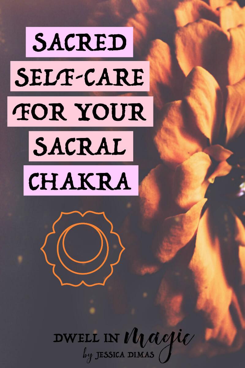 How to open, unblock and heal your sacral chakra with sacred self-care #selfcare #chakras #sacralchakra #reiki #energyhealing
