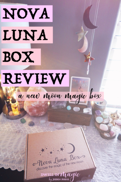 Unboxing and testing out the Nova Luna subscription box #newmoonmagic #newmoon #moonmagic #witchythings #boxreview #novaluna