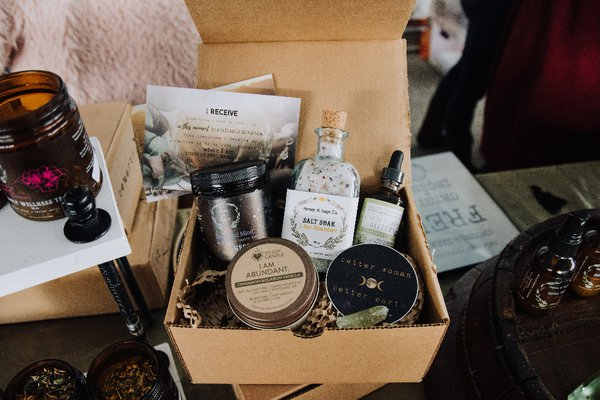 Honey and sage self-care subscription box