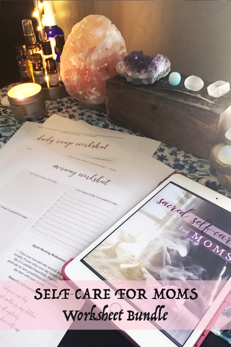 Self-care guide & worksheet bundle