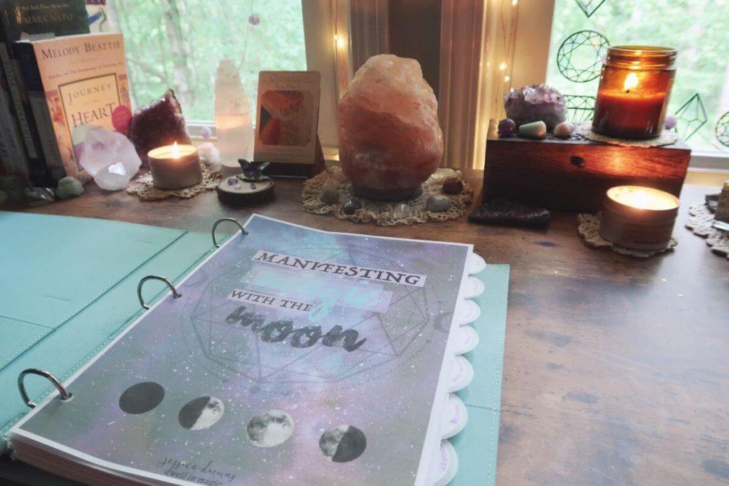 Manifesting Magic with the Moon Ritual Bundle Set - Dwell in