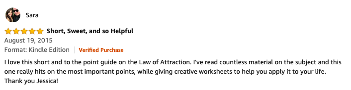Law of attraction book review
