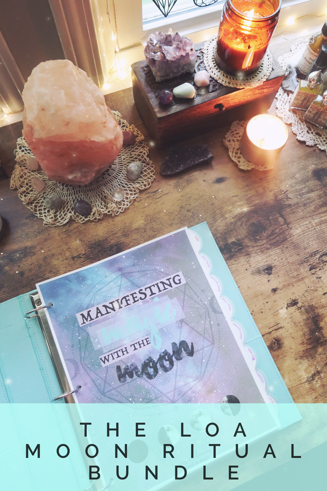 Moon ritual Journal