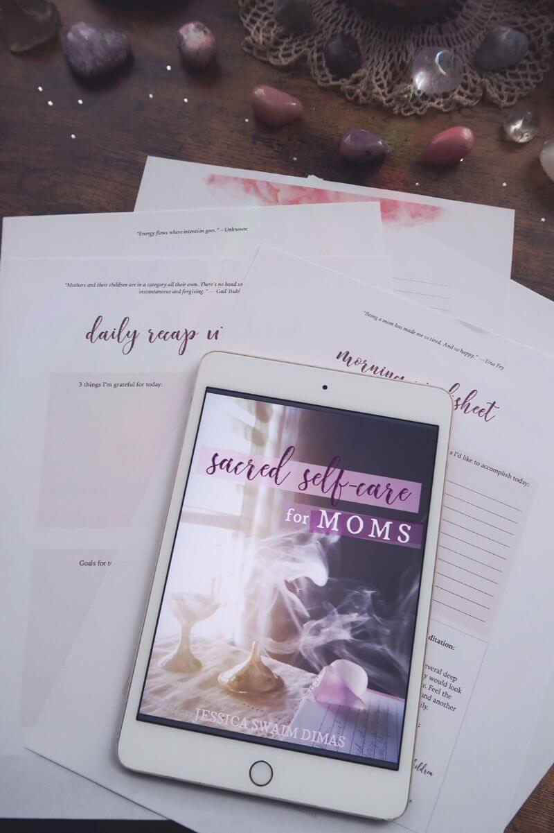 self-care for moms book