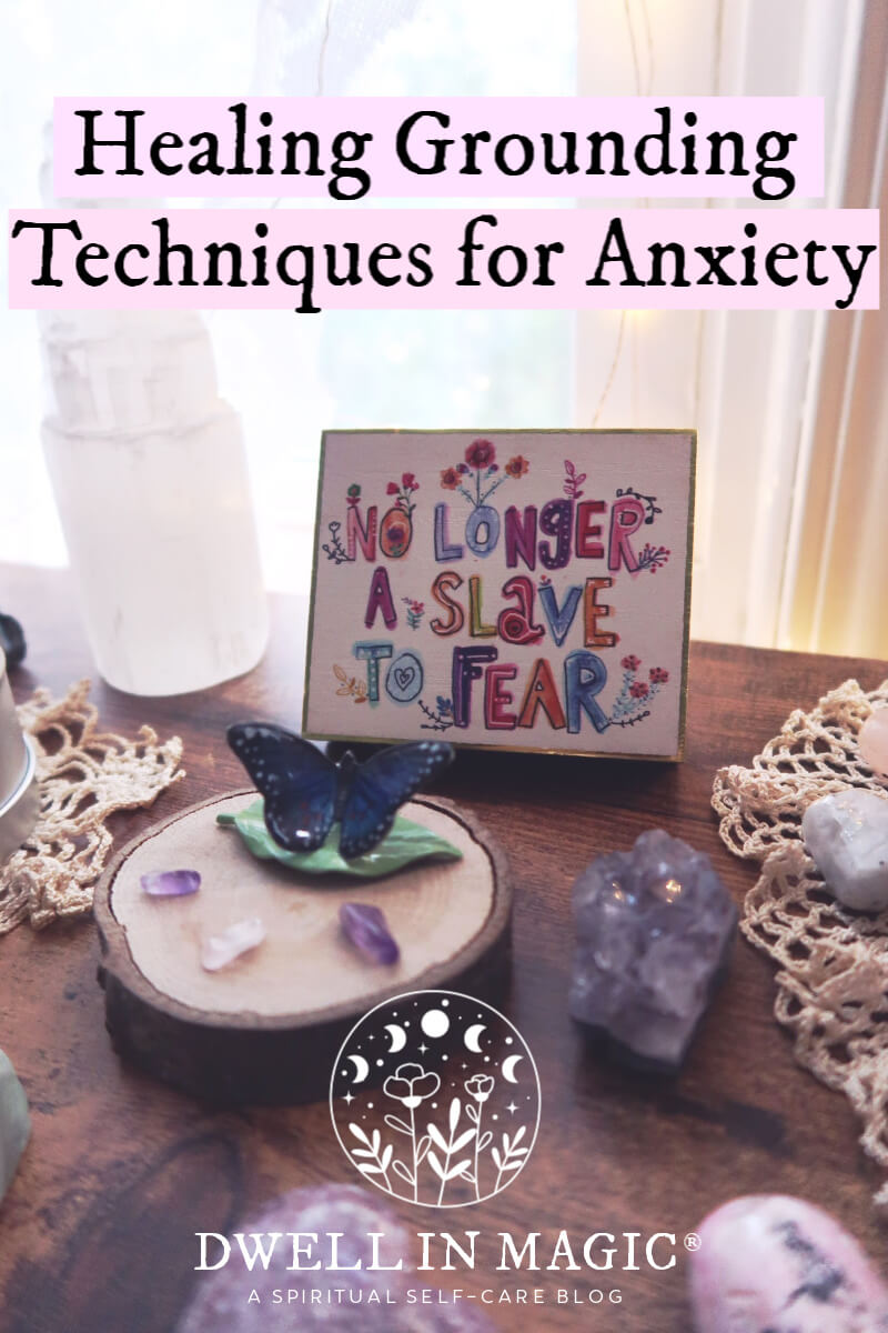 Grounding techniques for anxiety