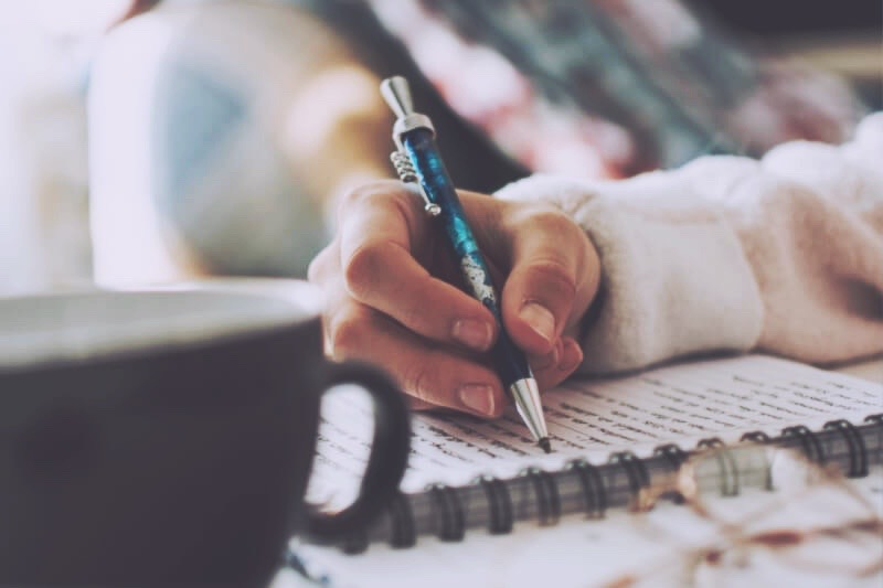 journaling to process emotions