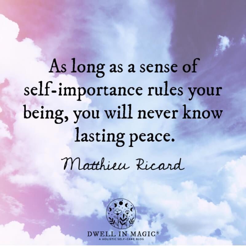 spiritual quotes images Matthieu Ricard