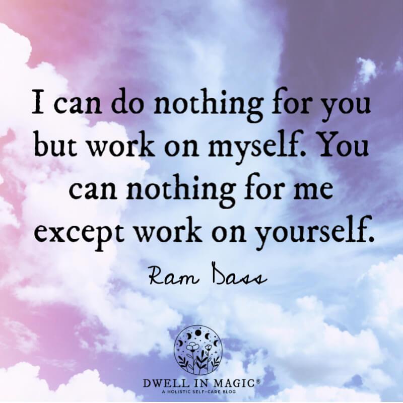 spiritual quotes images Ram Dass