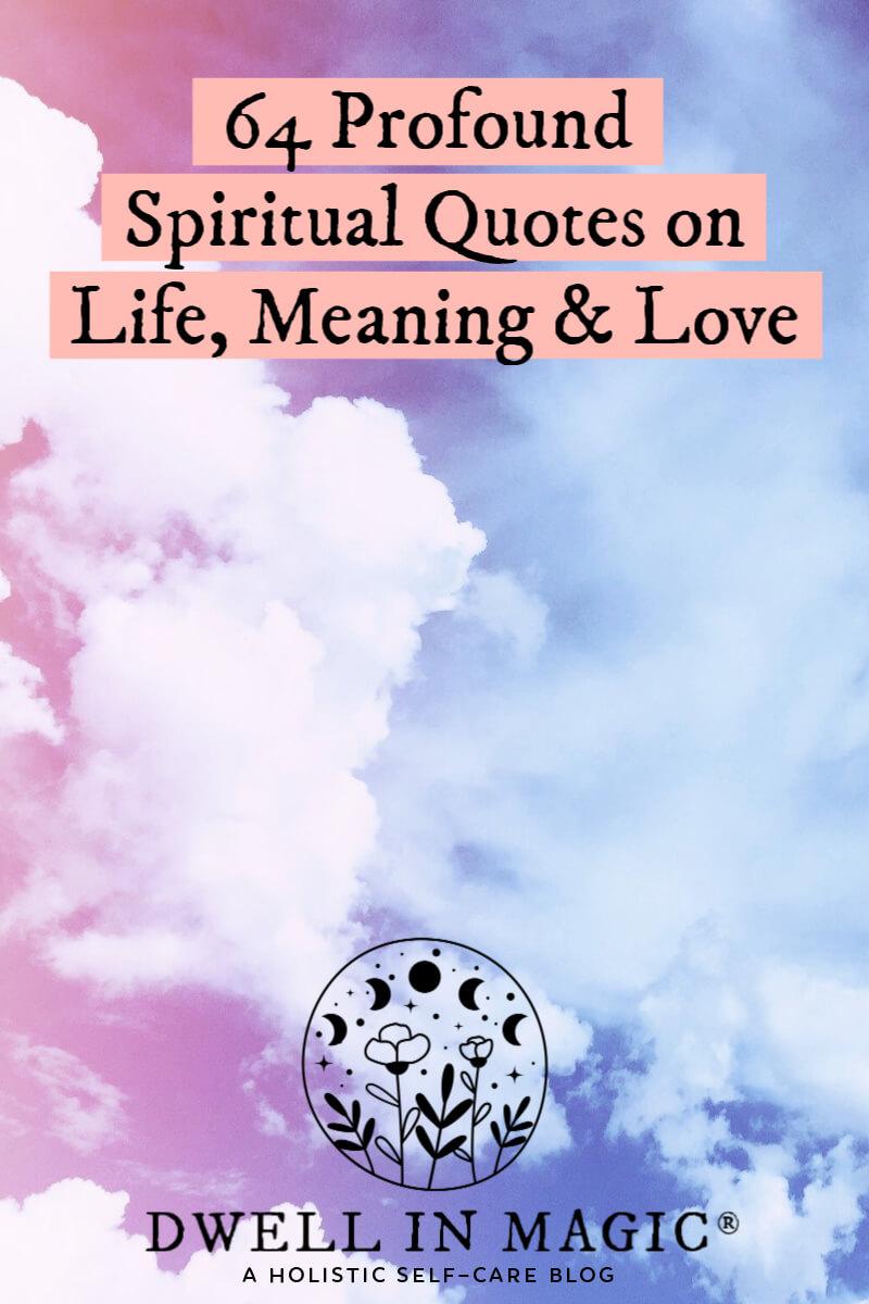 spiritual quotes growth