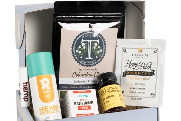 hemp crate co subscription box