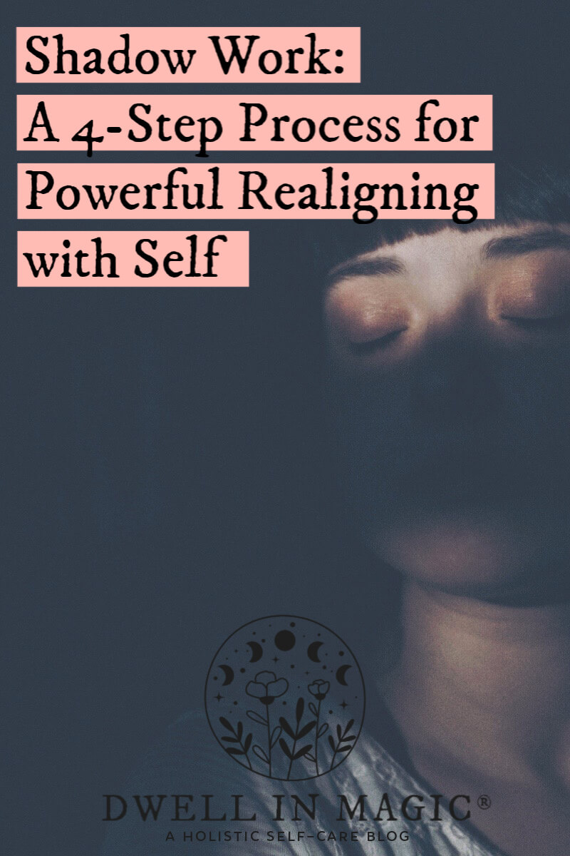 Shadow work for powerful realigning with self