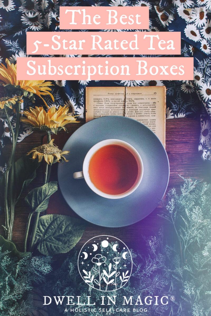 Tea subscription boxes