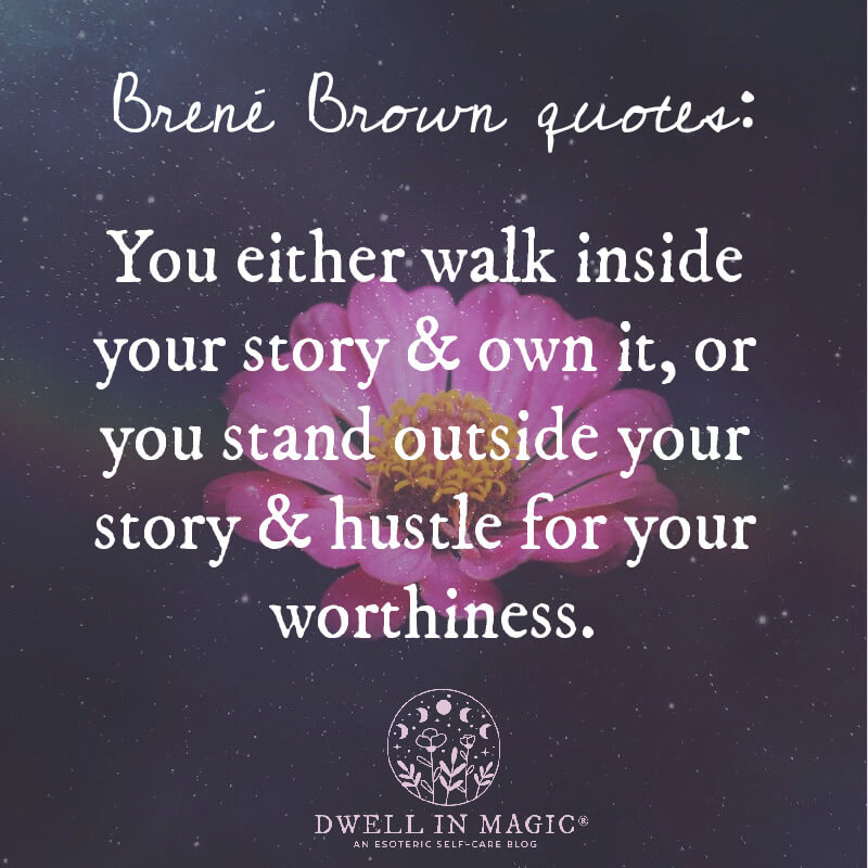 Brené Brown quotes on courage