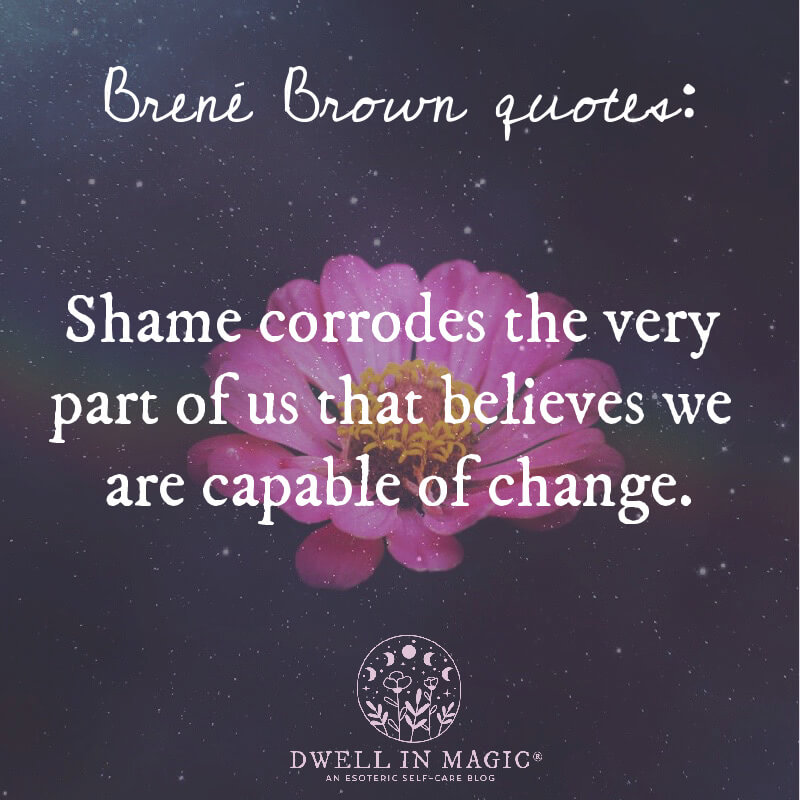 Brené Brown quotes on shame