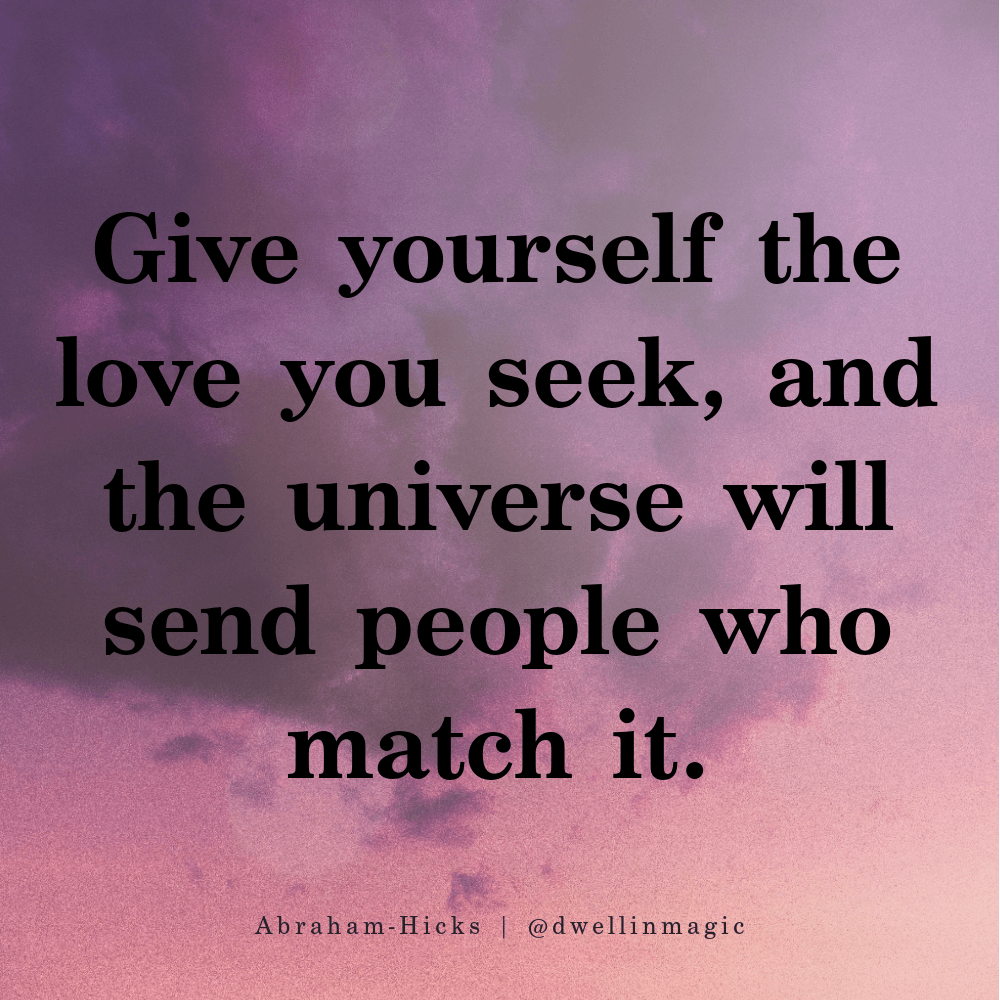 manifest love by visualizing the love you want