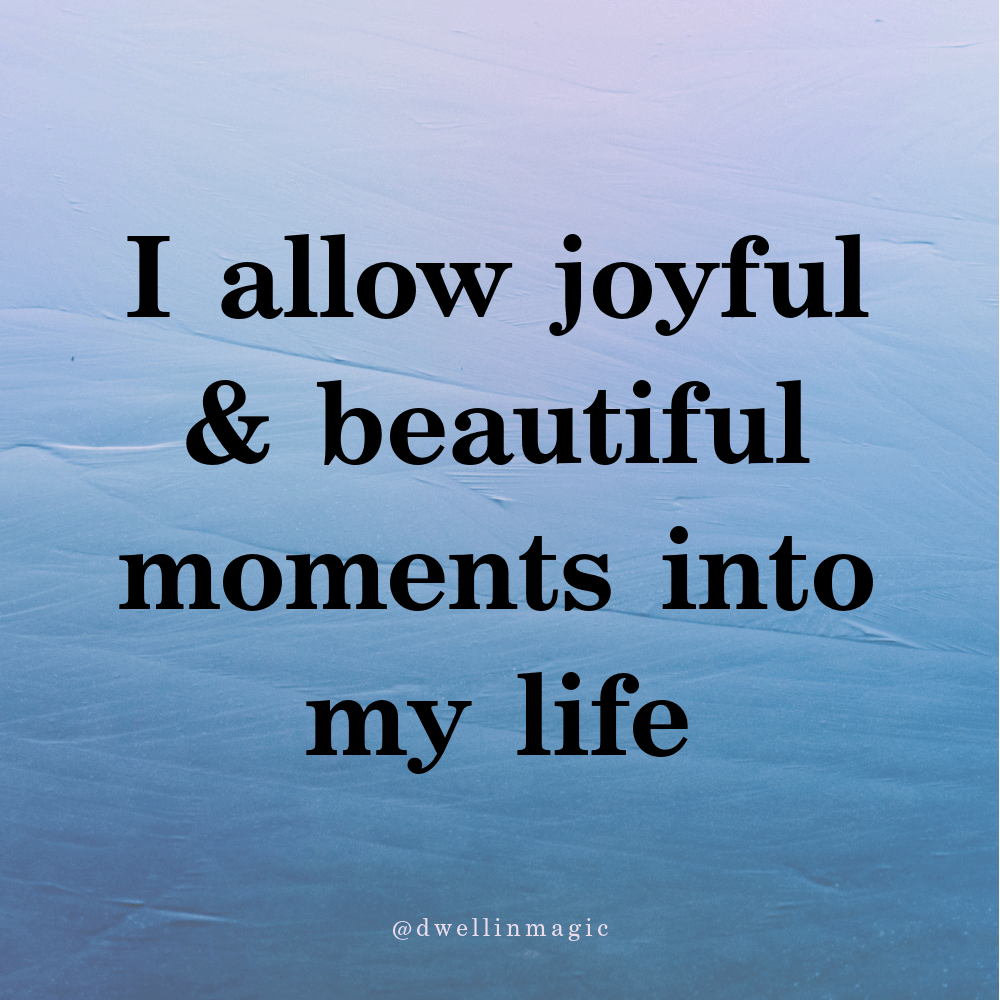 self love affirmation for a beautiful life