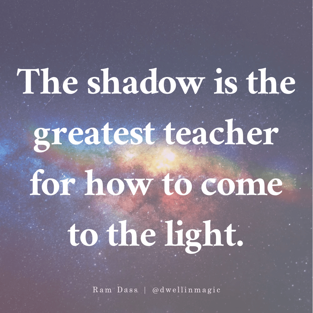 ram dass quote the shadow