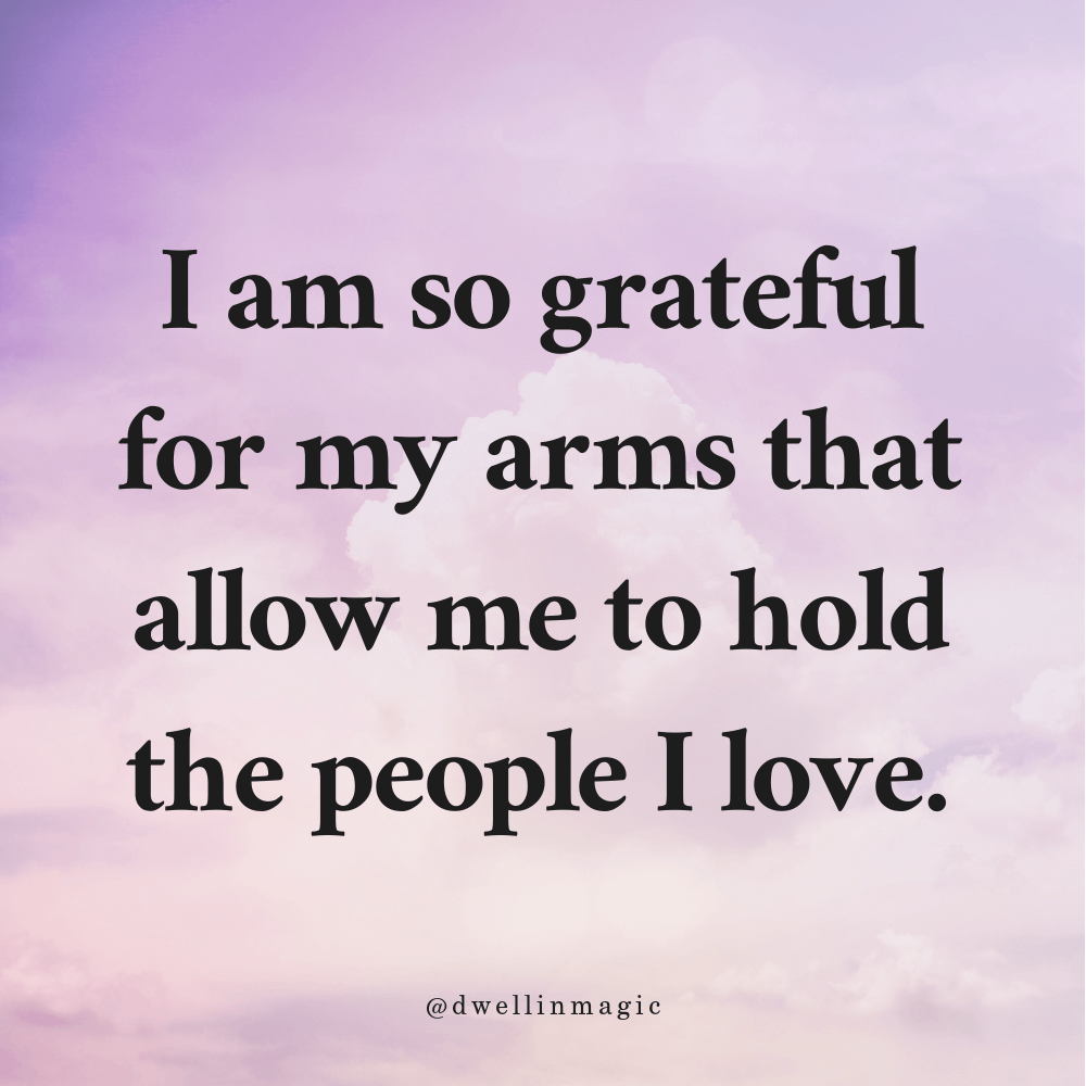 Gratitude for well being prompts