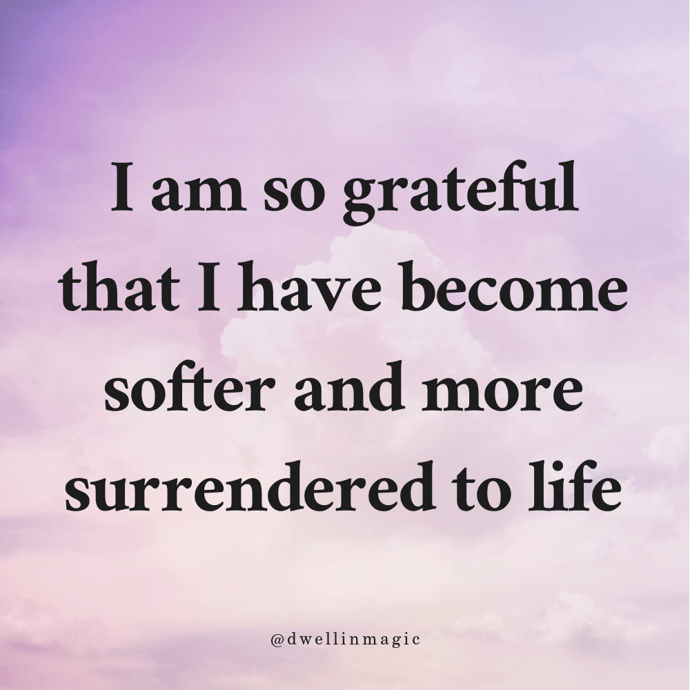 You can even find gratitude in the hard things you experience
