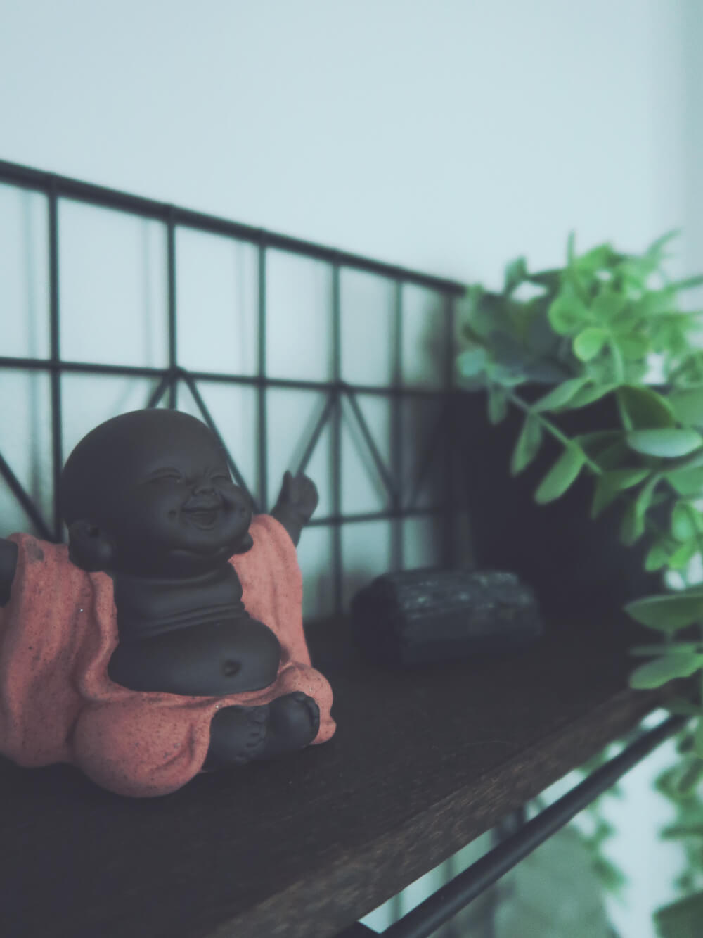 Happy Buddha figurine