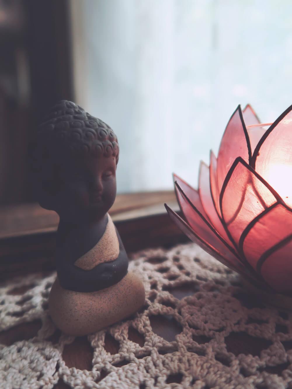 Serenity Buddha figurine
